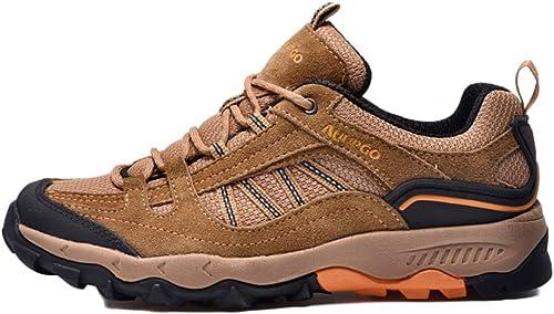 Chaussures De Course pour Homme, Chaussures De Sport Antidérapantes, Chaussures De Randonnée Cross-Country Imperméables Extérieures