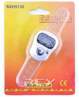Registrador de Visitas Mercanc/ía Golpes Contador Digital con Mini LCD de 5 D/ígitos Lila Electr/ónica Rey/® Pasos Vueltas