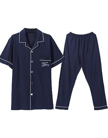 b9e1145be1ca3 ... 部屋着 長袖 上下セット 綿100 春夏シャツパジャマ. 44 · パジャマ 綿100% ルームウェア 半袖&長ズボン 上下セット 前開き  衿付き