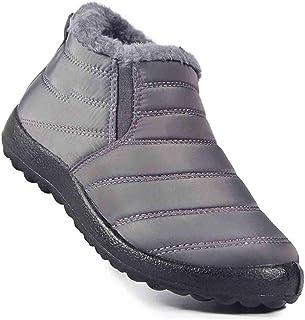 YZZ Hommes Chaussures Hiver Chaud Bottines for Homme Grande Taille Neige Bottes Hommes Chaussures de sécurité Chaussures d...