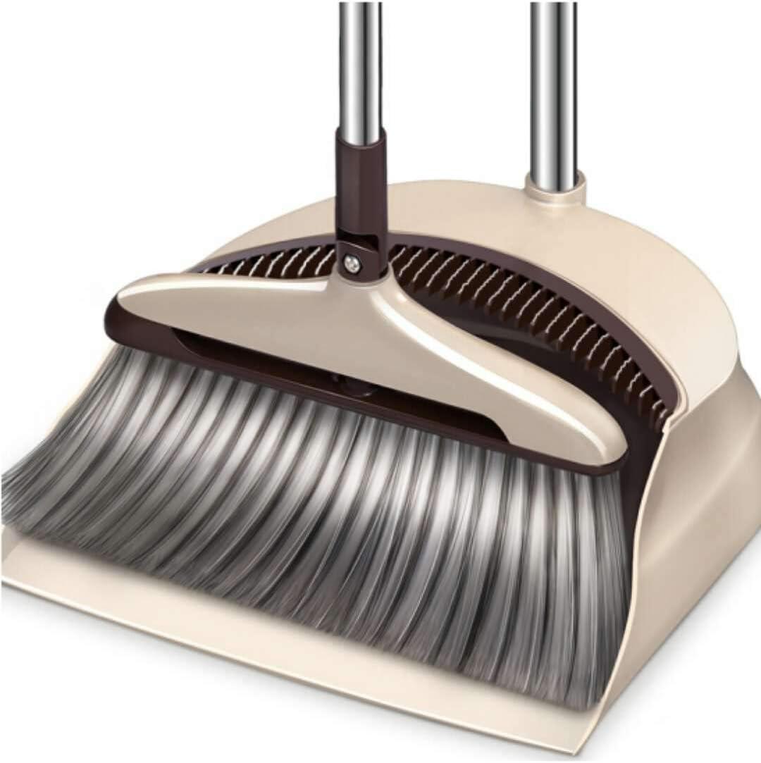 Broom and Dustpan Long Handle Fees free Topics on TV Pan w Set. Dust