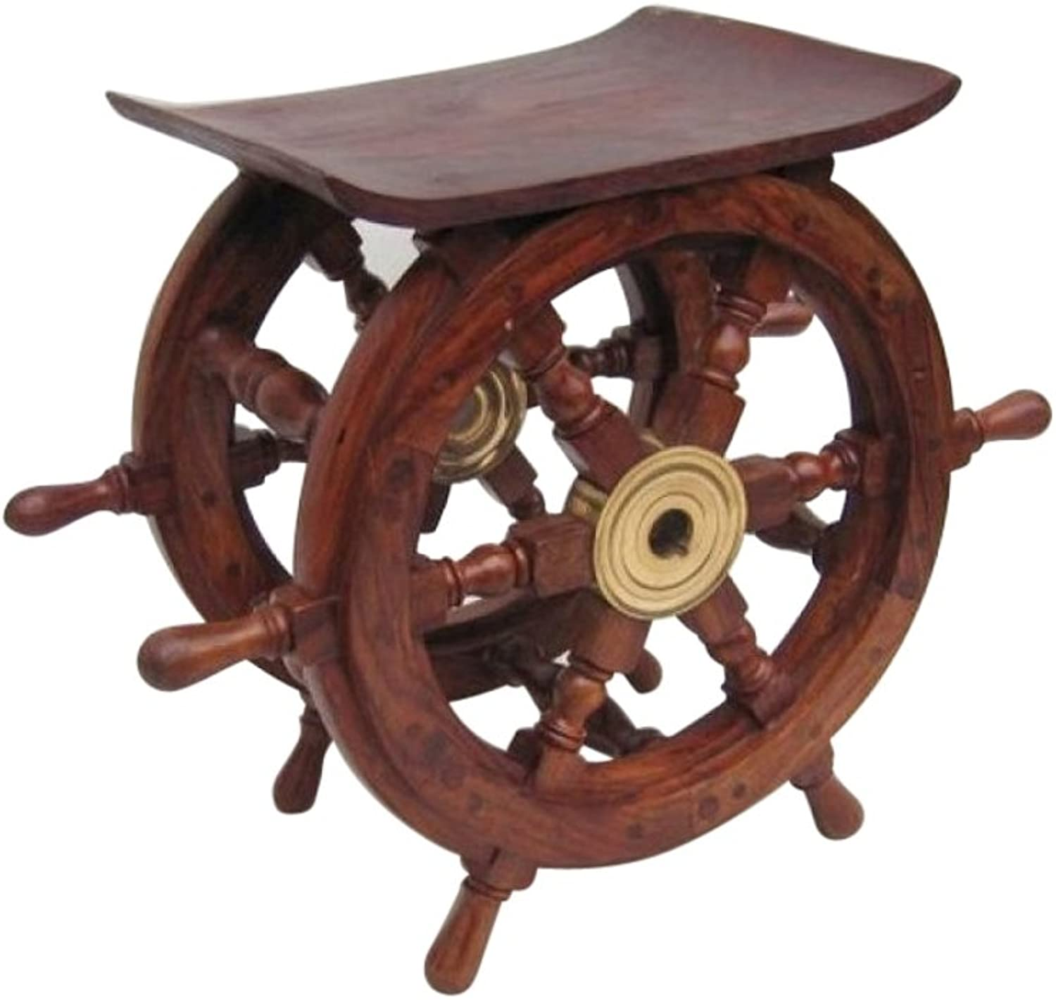 Ship Wheel Table, 18  - Nautical Decor