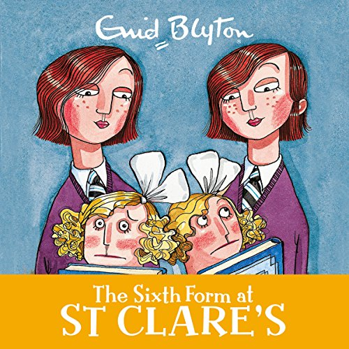 The Sixth Form at St Clare's audiobook cover art