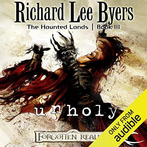 Unholy audiobook cover art