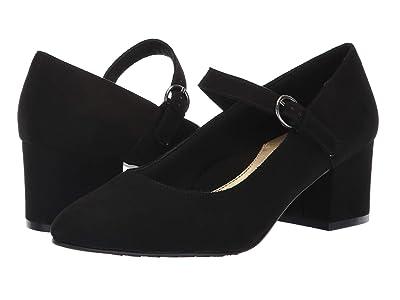 Soft Style Dustie (Black Faux Suede) Women