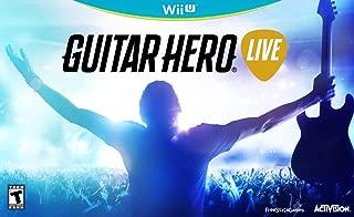 guitar hero wii u 2 guitars