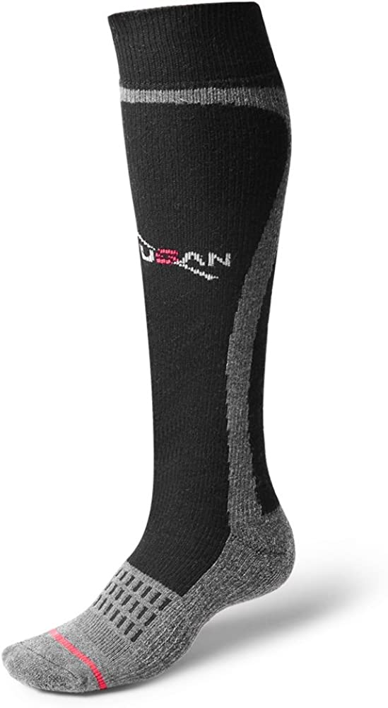 CXGCLUB Wool Ski Socks Max 69% OFF - Great interest Extra Warm Knee Cloth Performa High