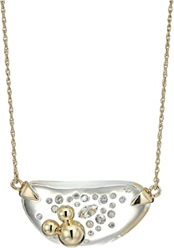 Alexis Bittar - Diamond Dust Lucite Pendant Necklace