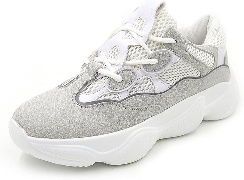 Jiang kvinnor skor vit skor, 2018 Fall Andable Andable Andable Little vit skor, Casual ljus Soles skor, Athletic skor skor  försäljningsförsäljning