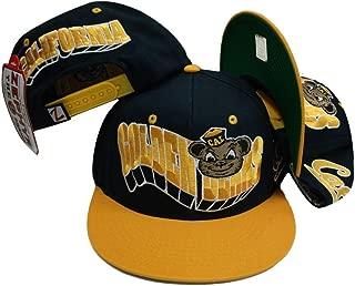ZHATS California Cal Golden Bears Navy/Yellow Snap Back Hat