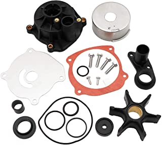KIPA Water Pump Repair Kit Replacement with Housing for Johnson Evinrude V4 V6 V8 85-300HP Outboard Motor Parts 5001594 5001595 Sierra Marine 18-3392 390768 391637 392750 393082 395060 395062 435447