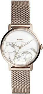 Fossil Women's Quartz Watch analog Display and Stainless Steel Strap, ES4404