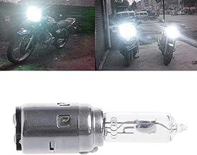 Hadeyicar Motocicleta DC 12V 35W BA20D Faros de xen/ón luz Blanca del Bulbo