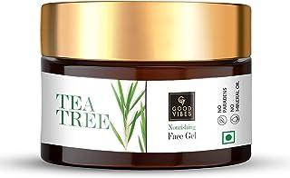 Good Vibes Tea Tree Nourishing Gel, 50 g Skin Moisturizing Soothing Calming Formula, Helps Reduce Acne & Excess Oil All Sk...