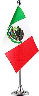 Best GentleGirl Mexico Flag Mexican Flag Table Flag,Desk Flag,Office Flag,International World Country Flags Banners,Festival Events Celebration,Office Decoration,Desk,Home Decoration Review