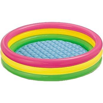 "Intex Kiddie Pool - Kid's Summer Sunset Glow Design - 58"" x 13"""