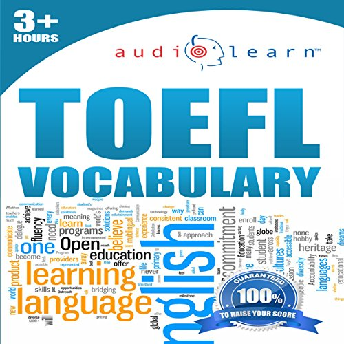 2012 TOEFL Vocabulary Audio Learn audiobook cover art