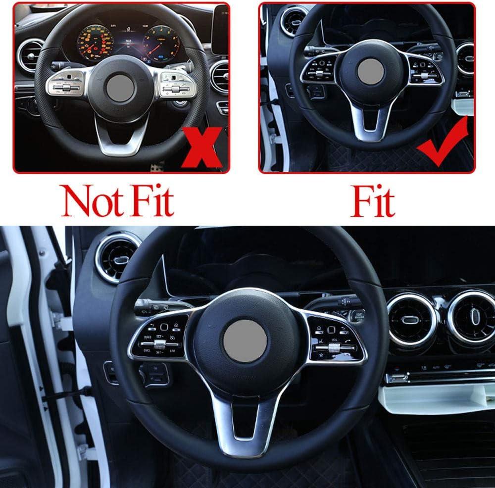Daetng Autoinnenausstattung Carbon Lenkraddekoration Verkleidung Für Mercedes Benz A B C E G Cla Cls Glc Gle Gls Eqc Glb W177 W247 W205 W213 C257 X253 W167 W463 X247 N293 Küche Haushalt