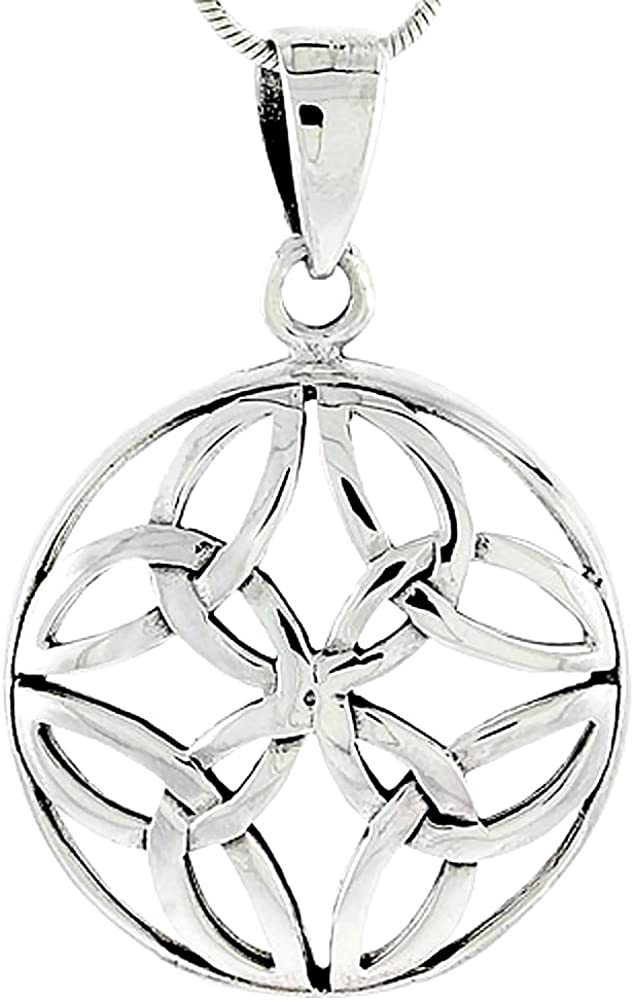 Sterling Silver Fixed price for sale Celtic Knot inch 1 8 Regular store Charm