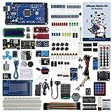 UCTRONICS Ultimate Starter Kit for Arduino with Instruction Booklet, MEGA 2560 R3, ESP8266 Module, 1602 LCD, NE555 Timer, RTC Module, DHT11 Temp & Humi Sensor, Water Lever Sensor, Sound Sensor Module