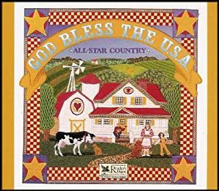 God Bless the USA: All Star Country (76 Songs on 4 CDs)
