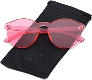 Best oversized pink sunglasses Reviews