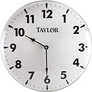 Best taylor precision products patio clock 18 inch Reviews