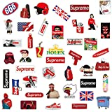 Q-Window Supreme Sticker Pack [102 pcs] Autocollants en Vinyle pour Skateboards,vélos,Bagages,PS4,Xbox One,Phone - Party Favors pour Adultes, Adolescents, garçons et Filles-Graffiti Decal-Imperméable