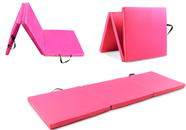 5 Star TD Gymnastics Superlatite Mat Exercise Tri x Fold Ft 6 Charlotte Mall Thic 2