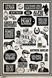 1art1 Peaky Blinders - Infographic Pster (91 x 61cm)