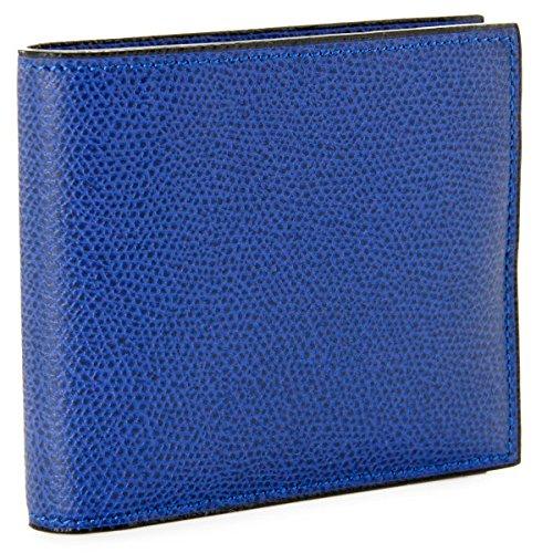 Valextra(ヴァレクストラ) 財布 メンズ グレインレザー 2つ折り財布 ロイヤルブルー V8L04-028-00RO[並行...