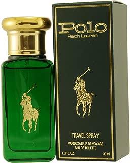 Polo Eau De Toilette Spray for Men by Ralph Lauren, Travel Size, 1 Ounce