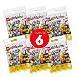 LEGO Minifigures Looney Tunes 66667 Building Kit; Cool Toys to Add Fun Action to Sets; an Awesome Collectible Gift for Looney Tunes Fans or Kids of Any Age, New 2021 (6 Pack)