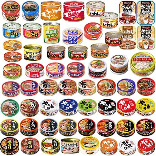 いなば ホテイ 極洋 焼き鳥 カレー缶詰 さば いわし ツナコーン 惣菜 缶詰 60缶セット
