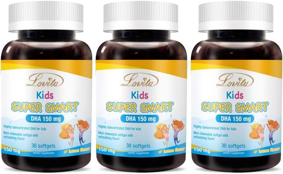 Lovita Kids Super Smart DHA 150mg 5 ☆ very popular and of Omega 3 Clearance SALE! Limited time! F EPA 30mg