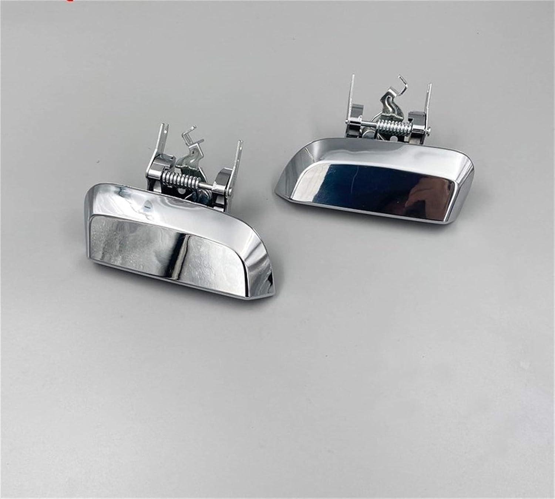 Color : Left side VITKT Poign/ée de porte arri/ère ext/érieur Chrome gauche et c/ôt/é droit Fit for Nissan Pathfinder 2005-2012