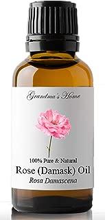 Grandma's Home Rose Essential Oil, 100% Pure, Therapeutic Grade Essential Oil - 30 mL (1 fl oz)