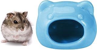 ハムスターのおへや ハムスター用ハウス 睡眠ベッド 小動物用 夏 涼感ハウス ベッド ひんやり 陶器