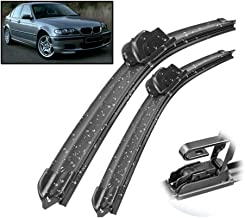 HCDSWSN LHD Front Wiper Blades,for BMW 3 Series M3 E46 1998-2006 Windshield Windscreen Front Window 20