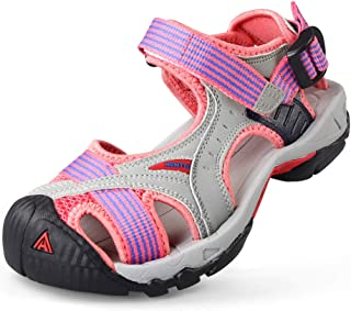 Womens Mens Hiking Outdoor Sandals Summer Athtletic Walking Water Shoes with Closed Toe