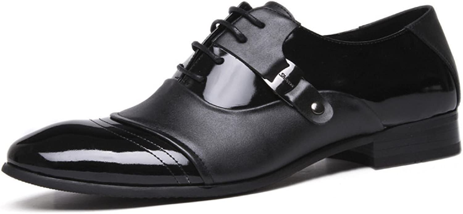 Men's shoes Dress Gentleman England Low Help shoes