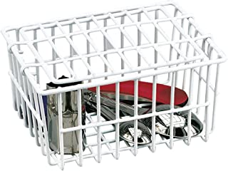 White Dishwasher Basket by Better Houseware