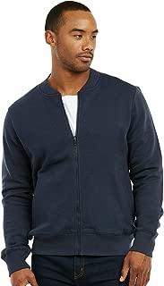 Men's Fleece Heavy Weight Zip Up Bomber Jacket