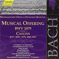 Bach: A Musical Offering BWV 1079 133/ Canons BMV 1072-78 by JOHANN SEBASTIAN BACH (2000-02-29)