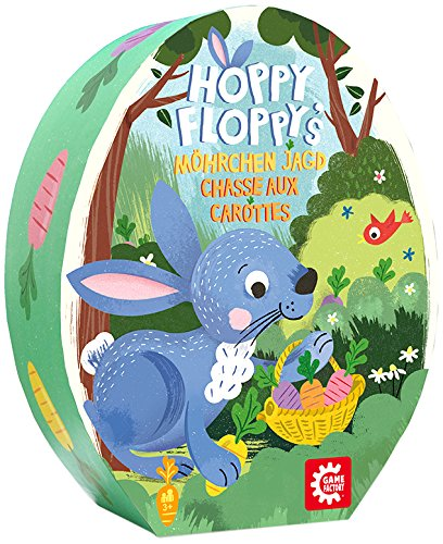 American Game Factory gamefactory 76160 – Hoppy Floppy, Multicolore