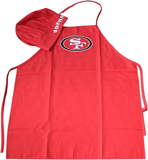 Wall Stickz Auto Parts NFL Chef Hat and Apron Set