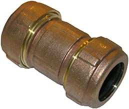 LASCO 13-1506 Brass Moody Compression Coupling