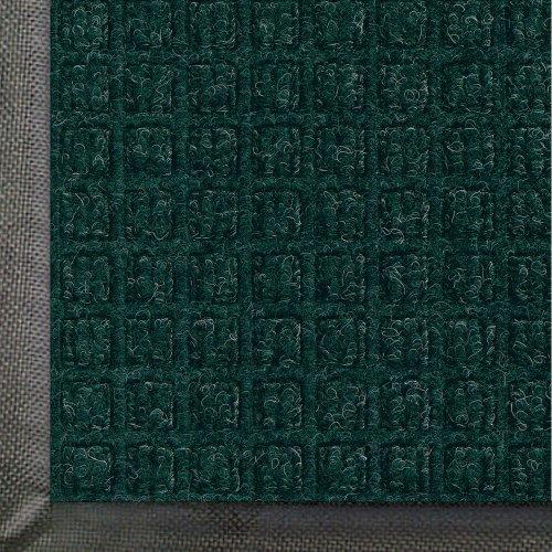WaterHog Commercial-Grade Entrance Mat, Indoor/Outdoor Floor Mat 5' Length x 3' Width, Evergreen by M+A Matting