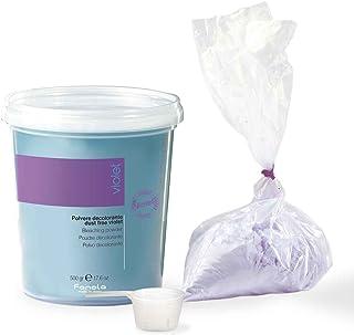 Fanola Blond pulver lila dammfritt i påfyllningspåse, 500 g