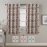 Thermal Insulated Blackout Curtains for Living Room/Bedroom Window 100% Privacy Window Treatment Panels